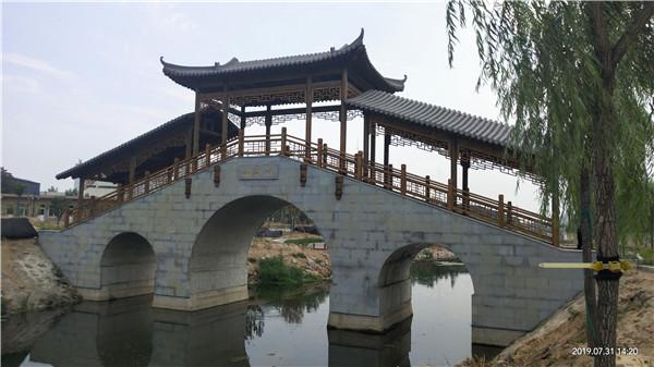 河南廊架设计