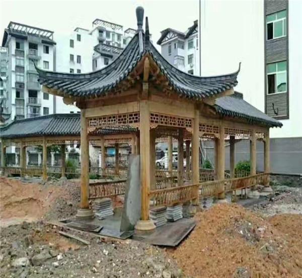 河南凉亭建造