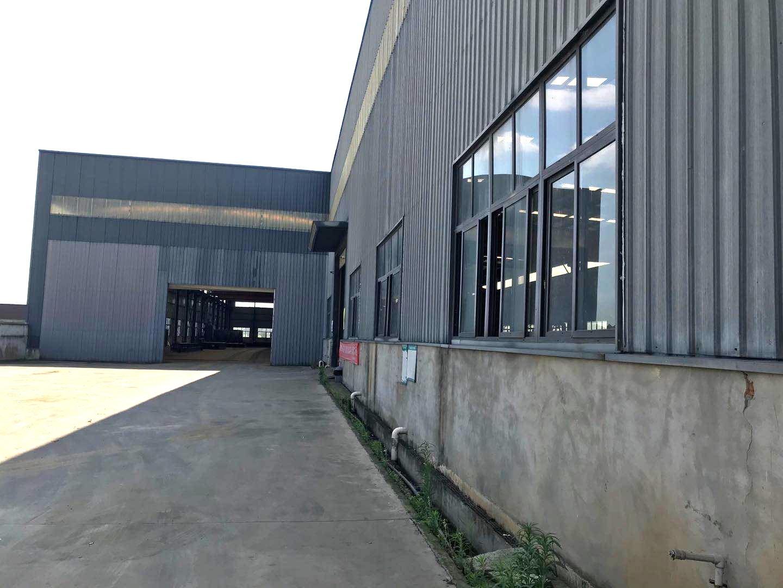钢结构阁楼制作厂区展示