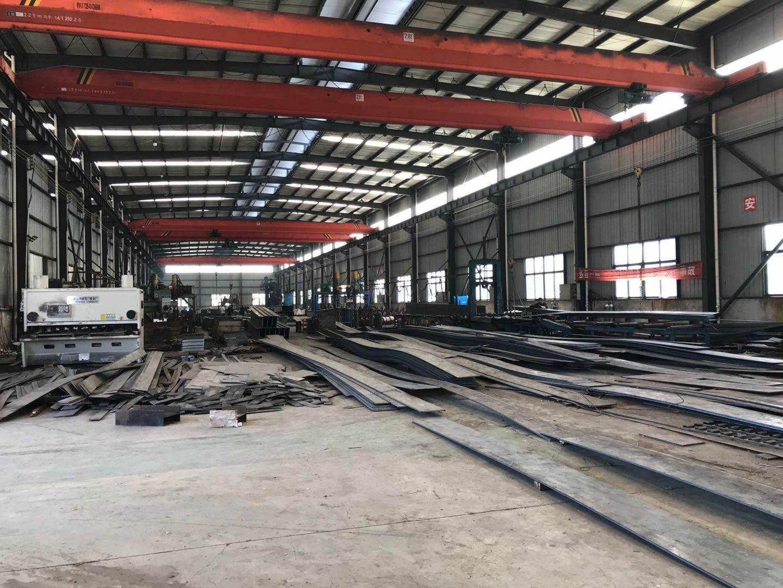 彩钢大棚制作厂区展示
