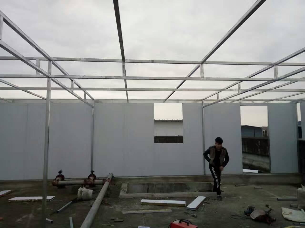 成都钢结构厂房施工