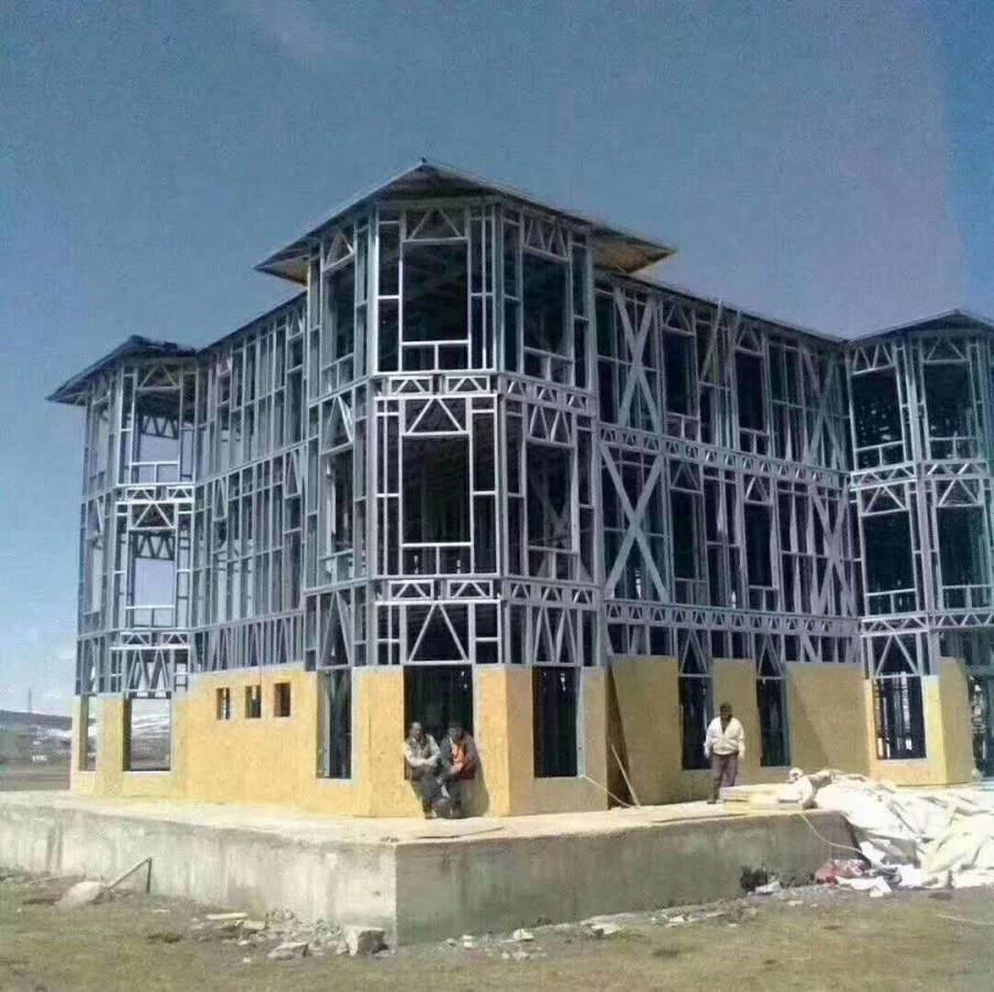 钢结构房屋的损害及其加固方法和特点