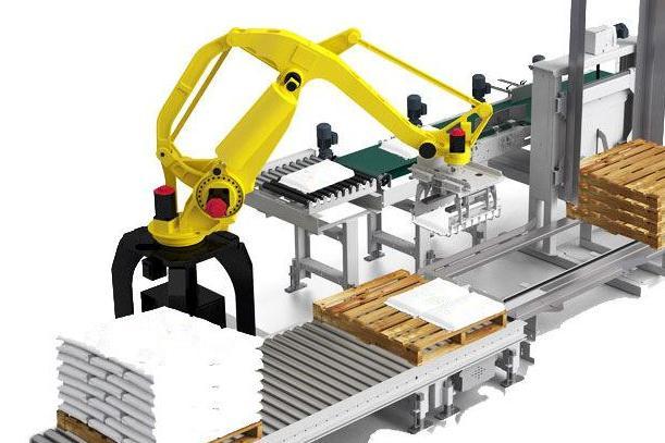 今天,湖北航安厂家和大家一起了解下全自动码垛机的组成和特点!