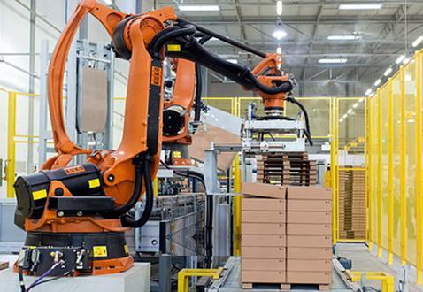 在碼垛行業使用廣泛的碼垛機器人,有這6個顯著的特點!