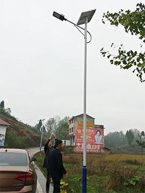 成都新农村太阳能路灯厂家