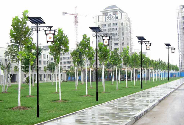 安装太阳能庭院灯需要注意哪些问题?永盛鑫灯业告诉你
