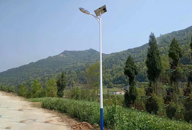 成都新农村太阳能路灯