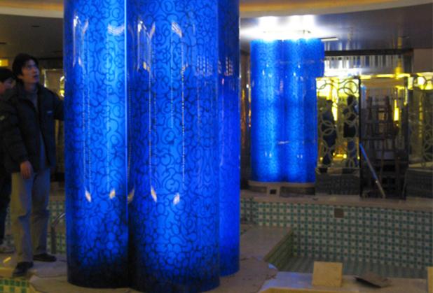 四川工艺玻璃加工定制成功案例