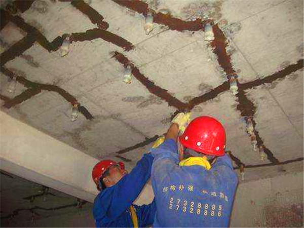 混凝土裂缝修补案例