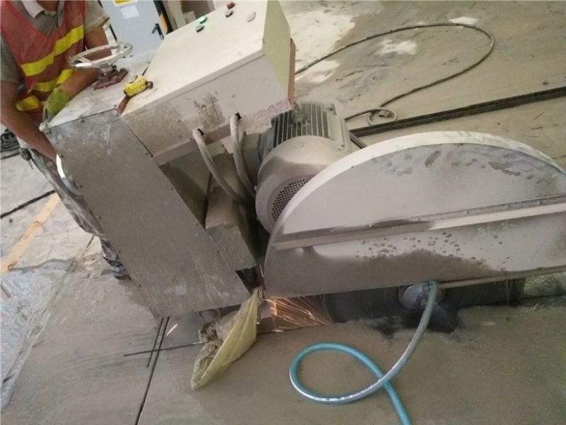 钢筋混凝土切割为什么选择绳锯切割,它有什么优势呢?