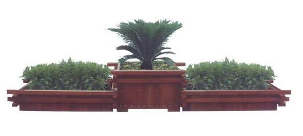 四川防腐木花箱生产