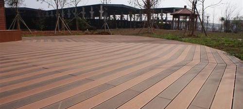 四川户外木地板施工