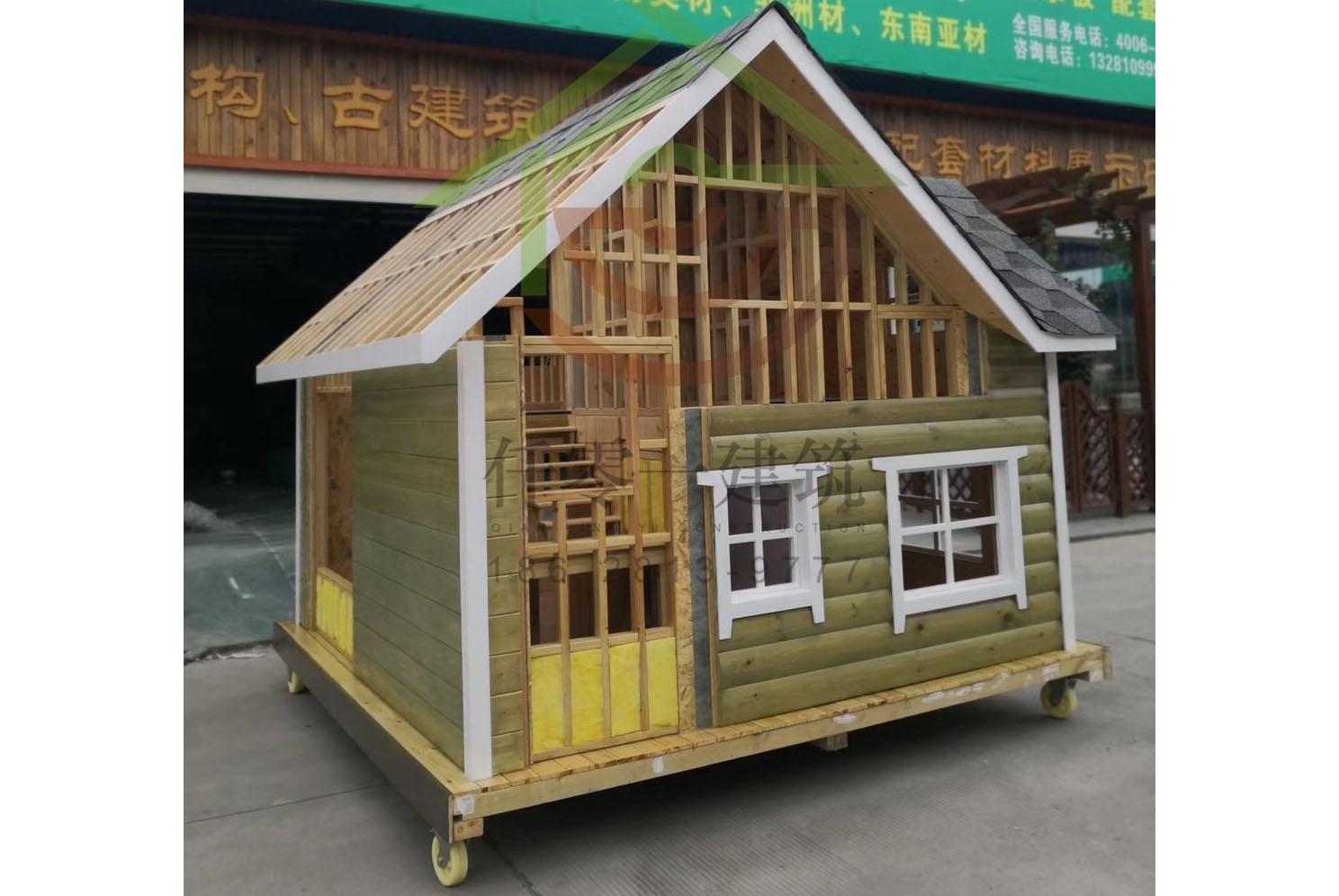 移动木屋模型
