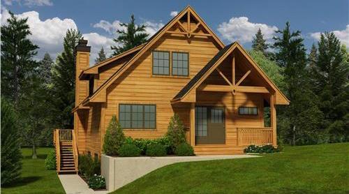 四川木结构别墅建筑的结构构成介绍,千万不要错过