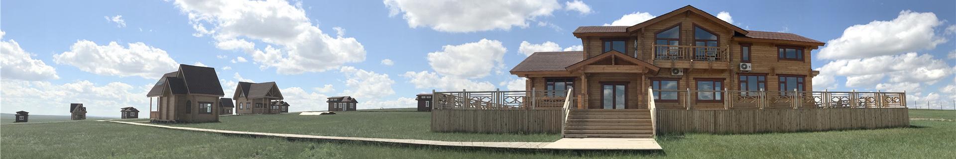 低碳环保木墅