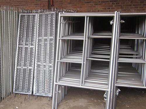 中租建筑钢管脚手架出租成功案例