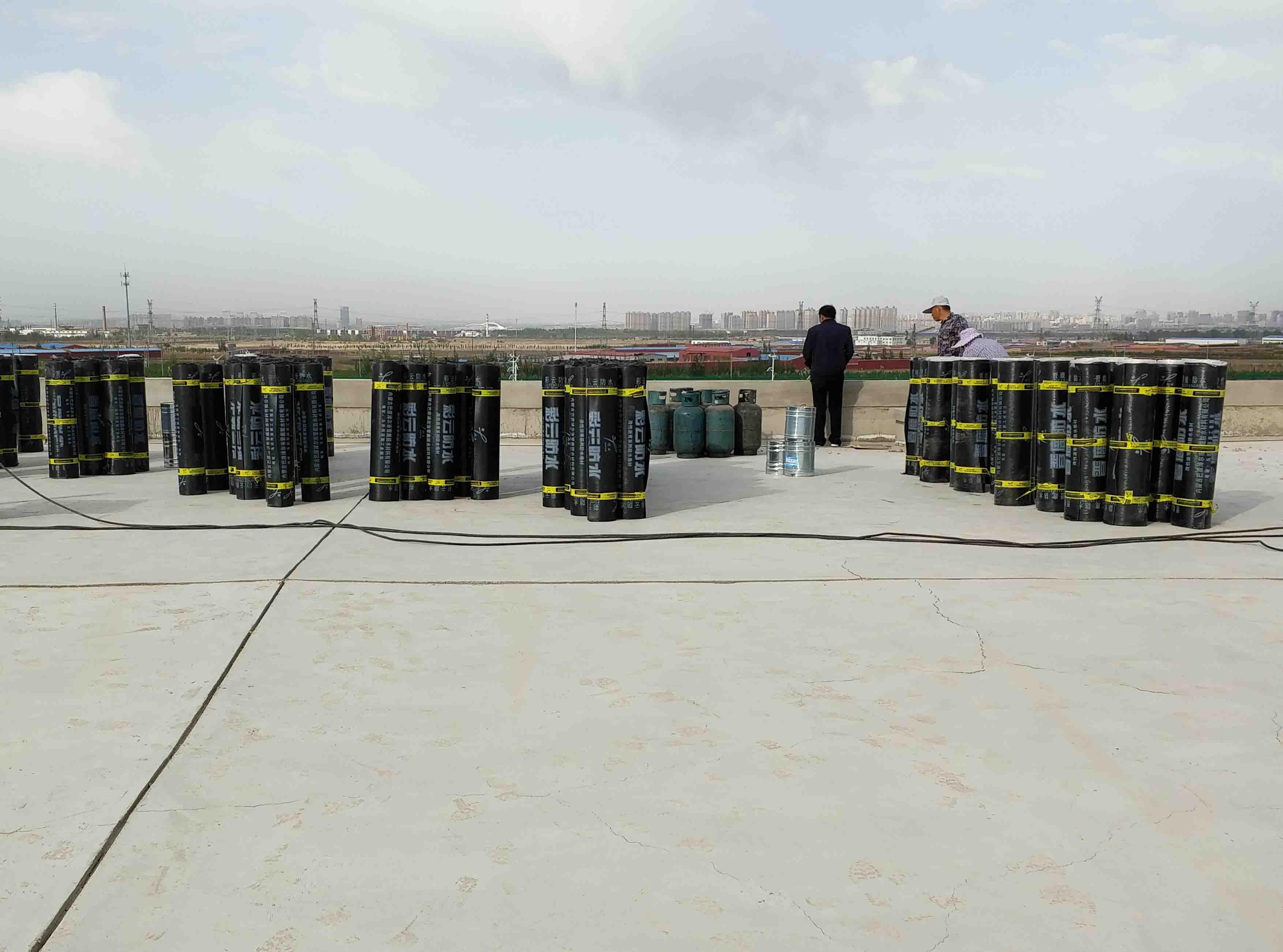 装备园区一机分公司屋面防水工程施工案例