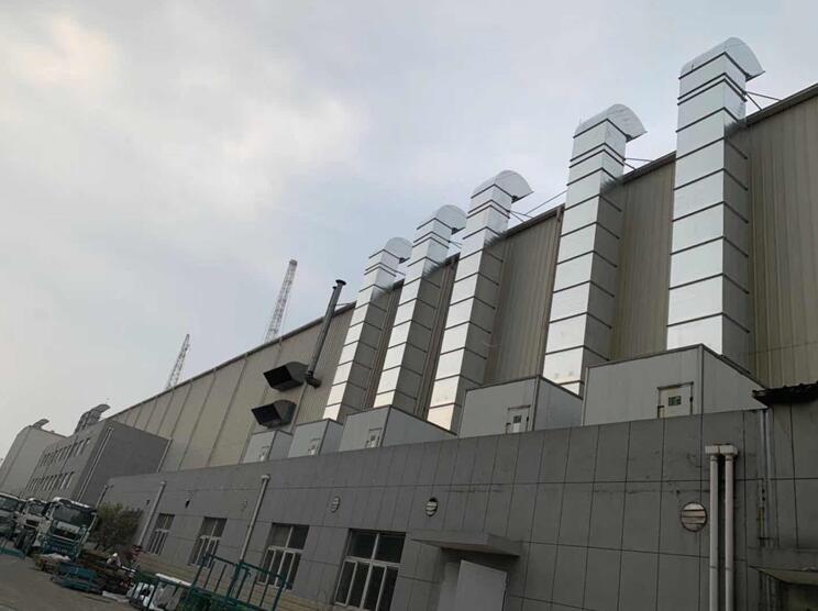 通风设备加工厂区