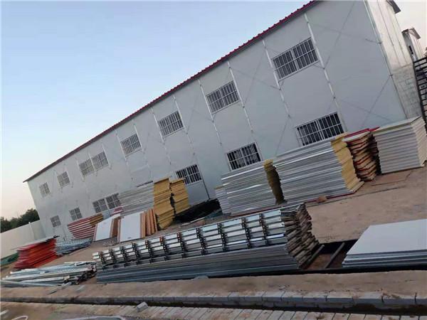 河南集装箱房施工案例