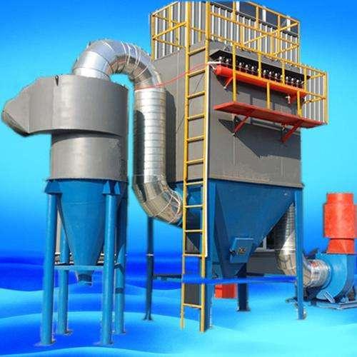 泊头市冰轩环保设备有限公司与某大型公司合作内蒙古单机除尘器案例