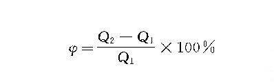 袋式除尘器的漏风率的公式