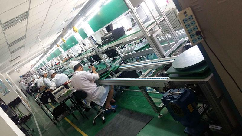 专用控制器生产线