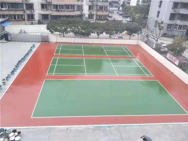 运动场地地坪设计