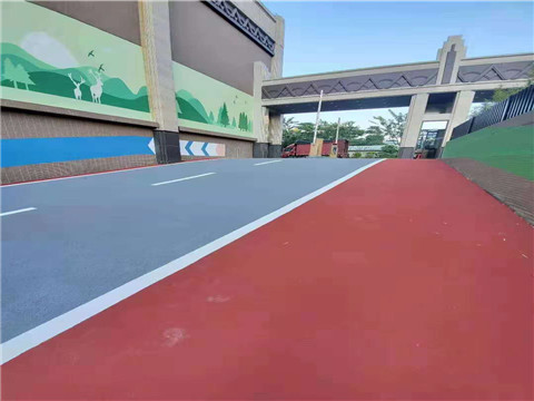 河南彩色路面地坪设计施工