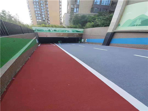 河南彩色路面地坪施工