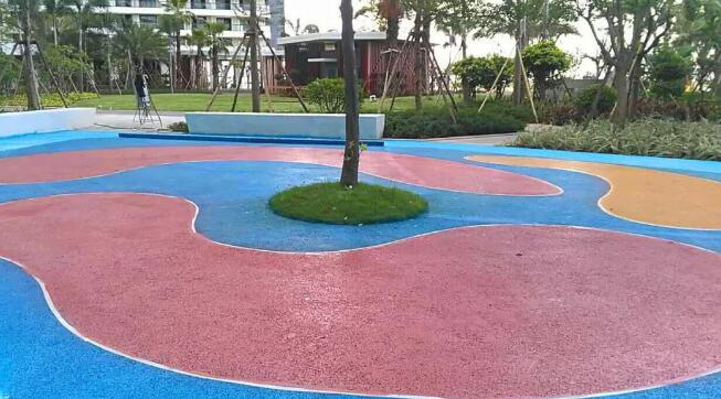 彩色透水地坪路面设计要求都有哪些