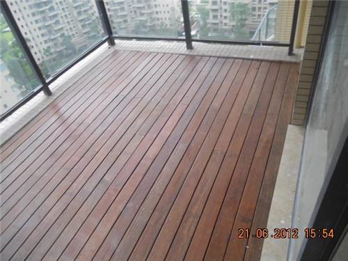 四川防腐木工程案例