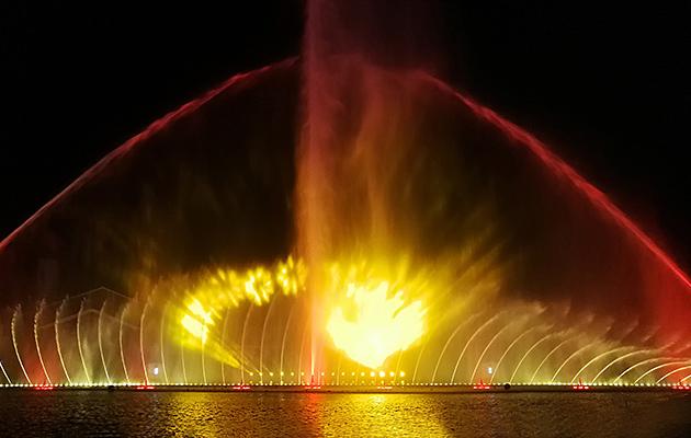 四川喷火喷泉设计欣赏
