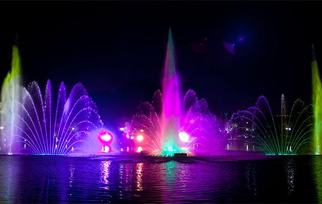 云南腾冲大型音乐喷泉