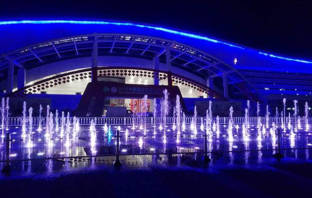 四川宜宾旱式喷泉