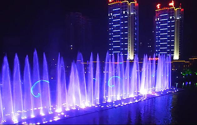四川大型音乐喷泉工程案例