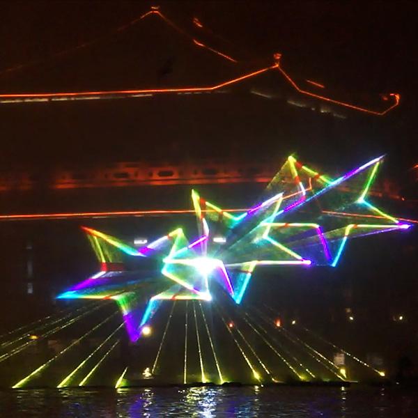 四川激光投影秀