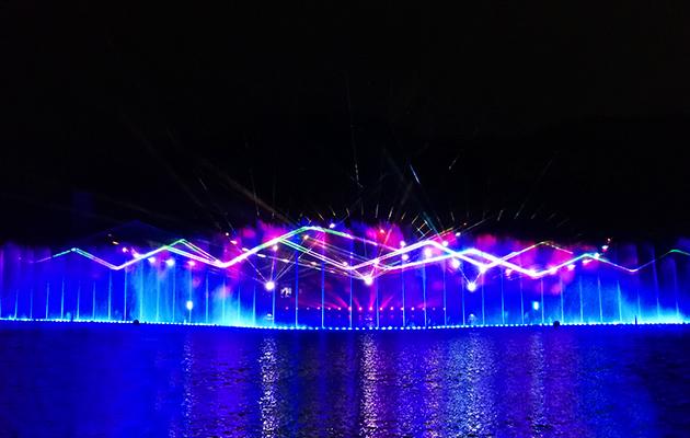 四川大型音乐喷泉设计