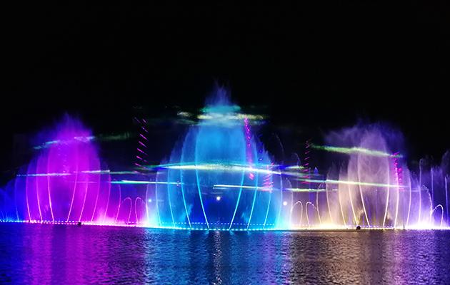 遵義大型音樂噴泉2