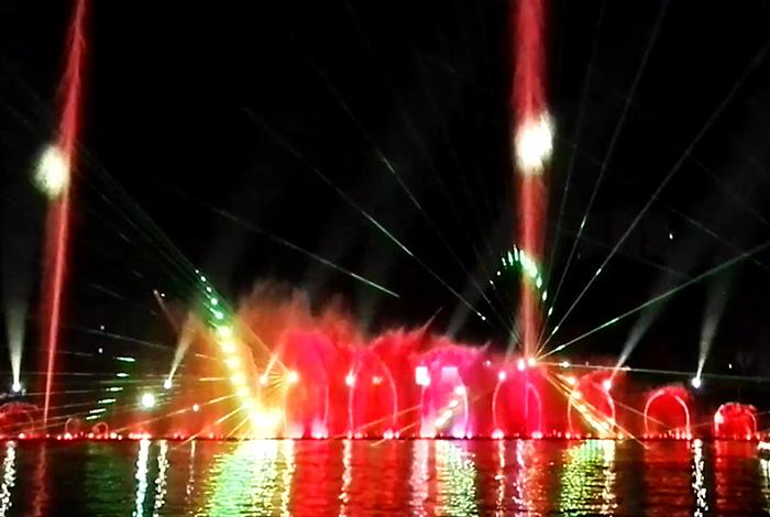 四川成都大型音樂噴泉水舞秀工程