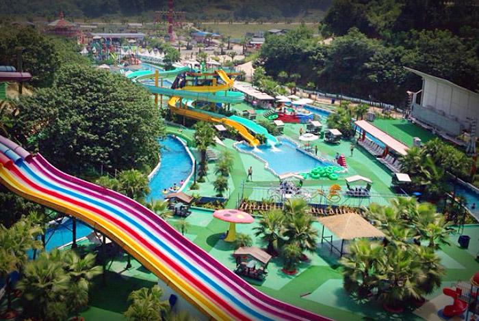 重慶主題公園綜合水景