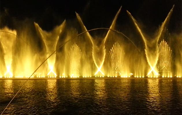 湖南大型音乐喷泉项目(视频)