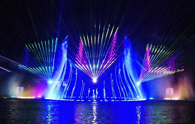 貴州遵義大型音樂噴泉工程
