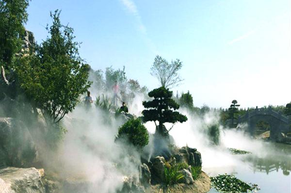 人造雾造景——让平庸景观也轻松拥有盛世美颜
