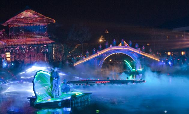 一个成都四川文旅水秀所带来的什么效果?