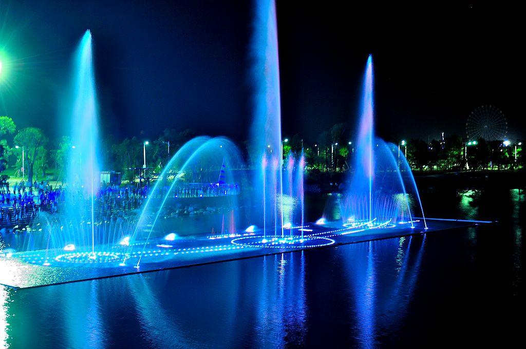 浅析四川喷泉公司的设计要点及注意事项