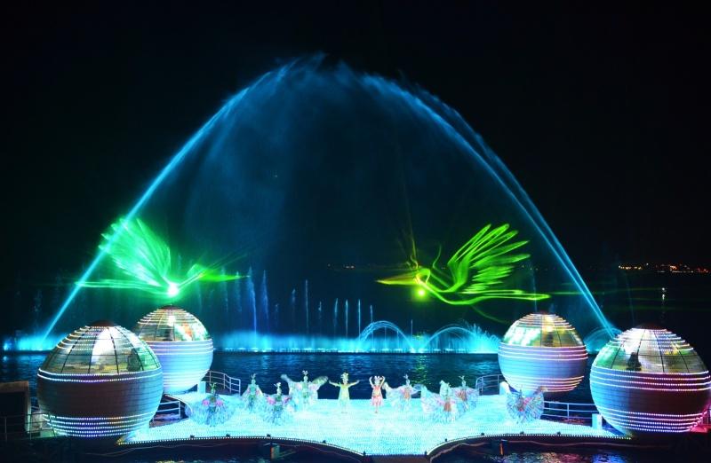 四川水幕电影喷泉设计要重 点考虑这几点内容