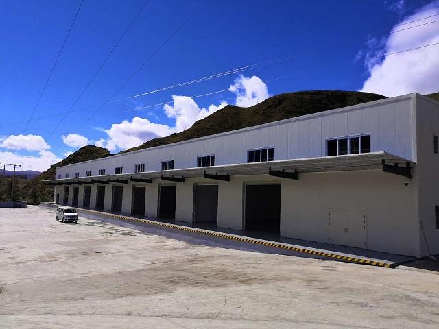 甘孜州八美镇美德园区冷链设施项目交付使用
