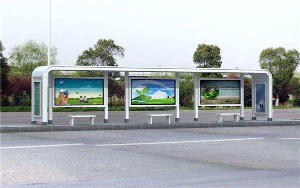 雅安公交站台灯箱案例