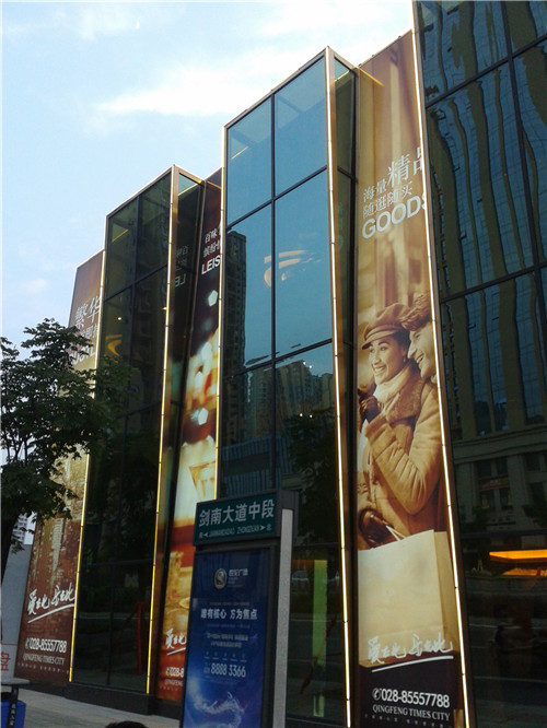 廣告燈箱展示案例