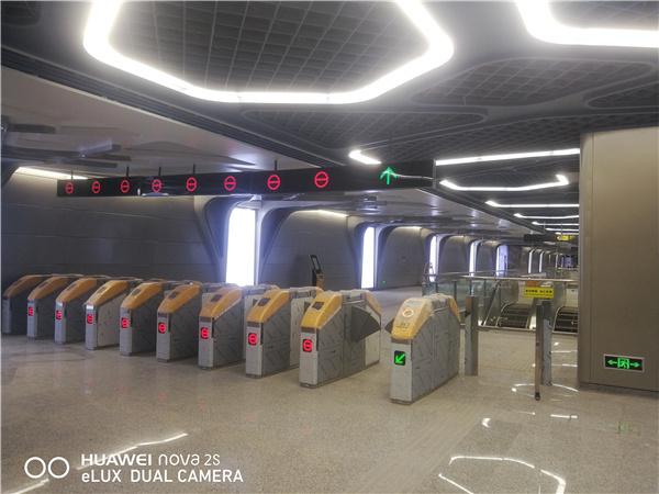 地鐵高鐵燈箱導視